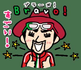 enjoy Italian! with Sasaki carpaccio! sticker #7062341