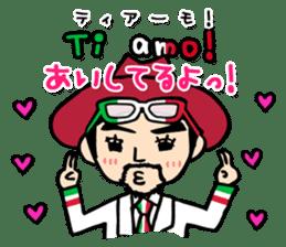 enjoy Italian! with Sasaki carpaccio! sticker #7062352