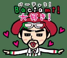 enjoy Italian! with Sasaki carpaccio! sticker #7062353