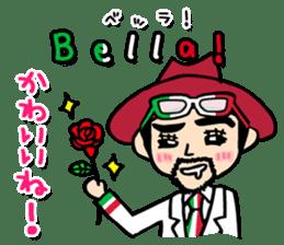 enjoy Italian! with Sasaki carpaccio! sticker #7062354