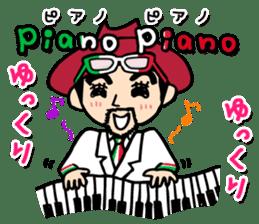 enjoy Italian! with Sasaki carpaccio! sticker #7062359