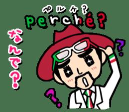 enjoy Italian! with Sasaki carpaccio! sticker #7062360