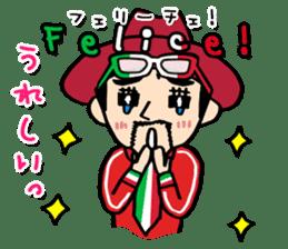 enjoy Italian! with Sasaki carpaccio! sticker #7062367