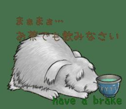 Latte and Rabbit's sticker #7064778