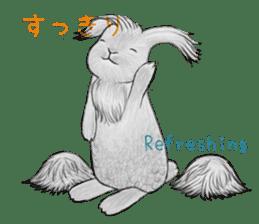 Latte and Rabbit's sticker #7064779