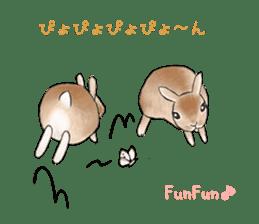 Latte and Rabbit's sticker #7064785