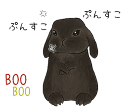 Latte and Rabbit's sticker #7064790