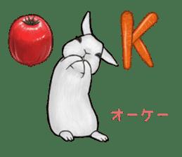 Latte and Rabbit's sticker #7064794