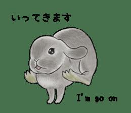 Latte and Rabbit's sticker #7064796
