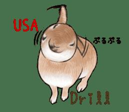 Latte and Rabbit's sticker #7064798