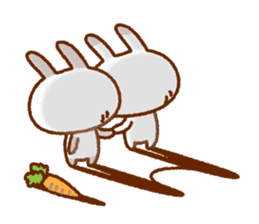 Spotted rabbit (Chap. always with you) sticker #7066445