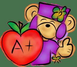 Rossy the teacher bears I sticker #7066586