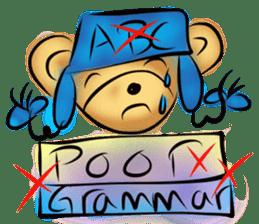 Rossy the teacher bears I sticker #7066607