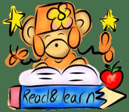 Rossy the teacher bears I sticker #7066614