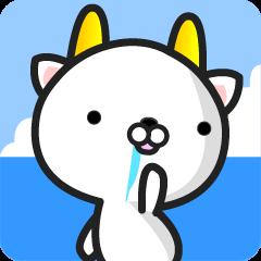 "GoatCat""Horn-kitty"""
