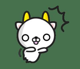 """GoatCat""""Horn-kitty"""" sticker #7069071"""