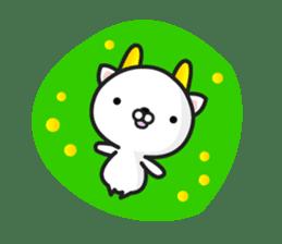 """GoatCat""""Horn-kitty"""" sticker #7069076"""
