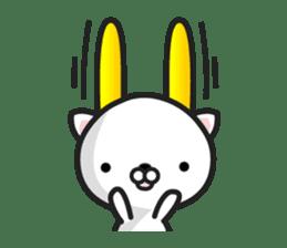 """GoatCat""""Horn-kitty"""" sticker #7069079"""