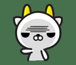 """GoatCat""""Horn-kitty"""" sticker #7069083"""
