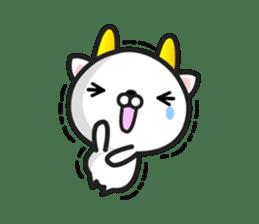 """GoatCat""""Horn-kitty"""" sticker #7069086"""