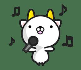 """GoatCat""""Horn-kitty"""" sticker #7069088"""