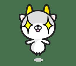 """GoatCat""""Horn-kitty"""" sticker #7069091"""