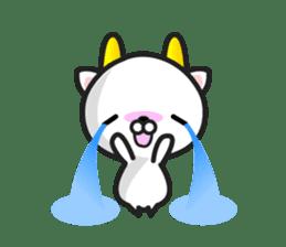 """GoatCat""""Horn-kitty"""" sticker #7069094"""