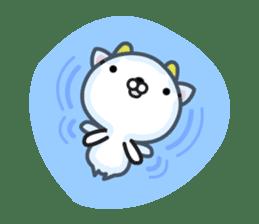 """GoatCat""""Horn-kitty"""" sticker #7069095"""