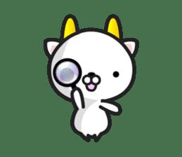 """GoatCat""""Horn-kitty"""" sticker #7069096"""