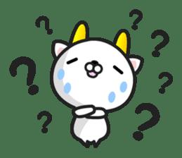 """GoatCat""""Horn-kitty"""" sticker #7069101"""