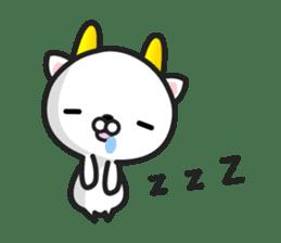 """GoatCat""""Horn-kitty"""" sticker #7069103"""
