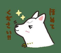 """Ladylike dog girl """"Namikoro"""" sticker #7069157"""