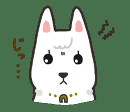 """Ladylike dog girl """"Namikoro"""" sticker #7069160"""
