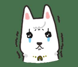 """Ladylike dog girl """"Namikoro"""" sticker #7069167"""