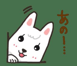 """Ladylike dog girl """"Namikoro"""" sticker #7069168"""