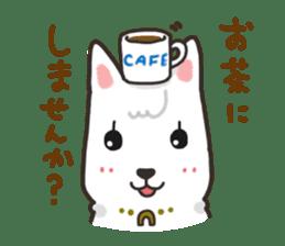 """Ladylike dog girl """"Namikoro"""" sticker #7069169"""