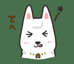 """Ladylike dog girl """"Namikoro"""" sticker #7069172"""
