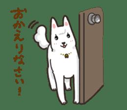"""Ladylike dog girl """"Namikoro"""" sticker #7069177"""