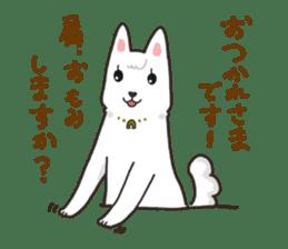 """Ladylike dog girl """"Namikoro"""" sticker #7069178"""