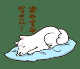 """Ladylike dog girl """"Namikoro"""" sticker #7069180"""