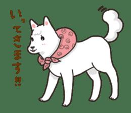 """Ladylike dog girl """"Namikoro"""" sticker #7069184"""