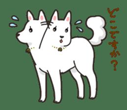 """Ladylike dog girl """"Namikoro"""" sticker #7069185"""