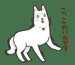 """Ladylike dog girl """"Namikoro"""" sticker #7069187"""