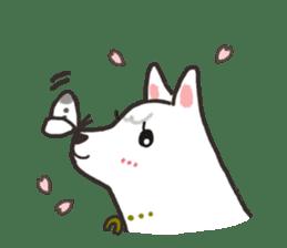 """Ladylike dog girl """"Namikoro"""" sticker #7069188"""