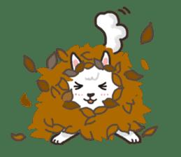 """Ladylike dog girl """"Namikoro"""" sticker #7069190"""