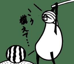 tanimaru uncle summer vacation sticker #7069289