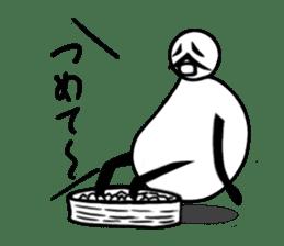 tanimaru uncle summer vacation sticker #7069299