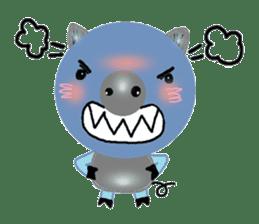 About cute pig sticker #7069657