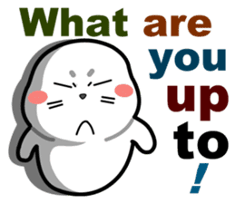 baby seal dodo(part1) sticker #7069800
