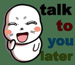baby seal dodo(part1) sticker #7069817